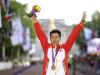 王镇以1小时19分25秒获得一枚铜牌