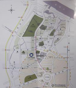 上海三湘未来海岸交通图图片