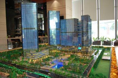 佛山富力国际金融中心实景图图片